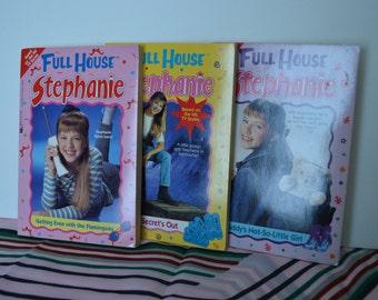 Lot of Three Full House Stephanie Books