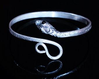 Snake Bracelet Silver