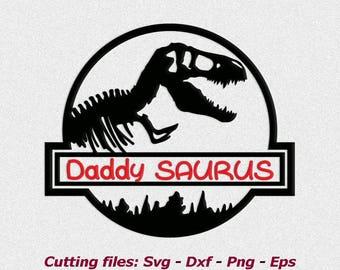 daddy saurus svg, cutting file, vinyl file, svg, dinosaur, svg file cameo file, cricut, dinosaur dad, dinosaur svg, download, daddy saurus