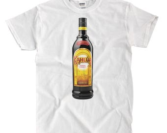 Kahlua Bottle - White T-shirt