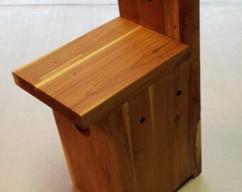 Rustic Red Cedar Birdhouse