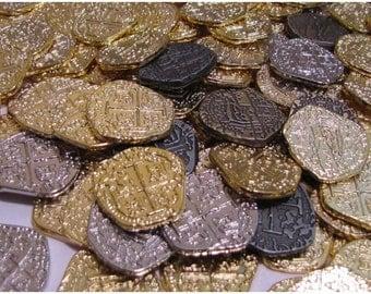Treasure Chest Coins - Pirate Decor, Treasure Chest, Pirate Chest