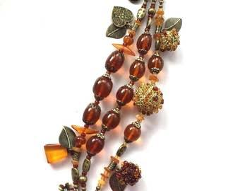 Amber jewelery - amber bracelet - amber crochet bracelet – beads jewellery – luxury bracelet– natural stone - fashion jewellery