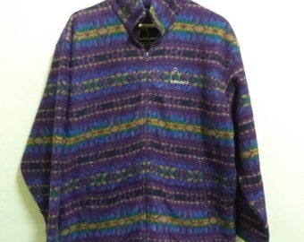 Vintage Head sweatshirt pullover with multicolour/large/sportwear/hip hop