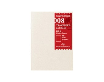 TN Refill - Passport Size - 008 Sketch Paper