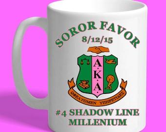 AKA Sorority Custom 15oz. Coffee Mug