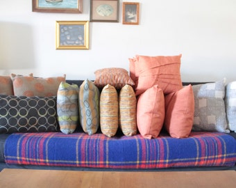 Hand made large throw pillows