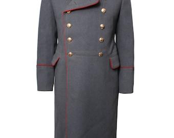 Original Soviet-Russian Ceremonial overcoat General Major winter coat military uniform USSR