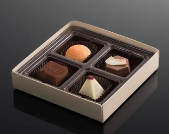 Thanksgiving gifts - Your chocolate gift box choice made easy - a decadent box of chocolates for the special person in your life - Kosher