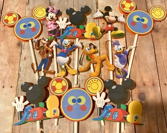 Mickey Mouse Clubhouse Cupcake Toppers