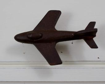 Cast Iron Airplane Drawer Pull Knob