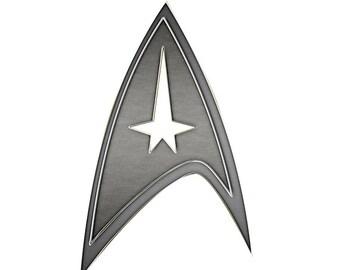 Star Trek emblem vinyl sticker