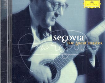 Andrés Segovia - The Great Master (2xCD, Comp) - CD - NM