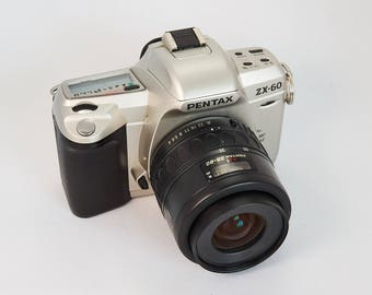 Pentax ZX-60 with Pentax-F 35-80mm Zoom Lens