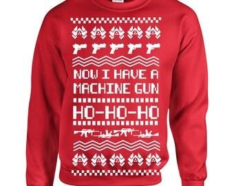 Ugly sweater gun | Etsy