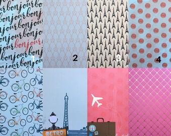 Coasters, Custom Coasters, Paris Coasters, Eiffel Tower Coasters, Red Coasters, Set of 4 Coasters, Ceramic Coasters, Tile Coasters
