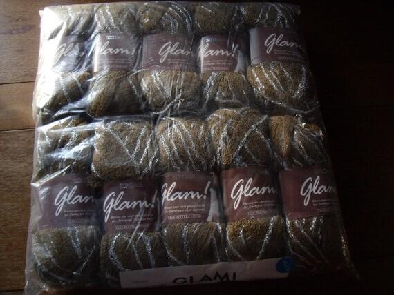 1000 grams 10 x 100 gram balls Sirdar Glam knitting yarn