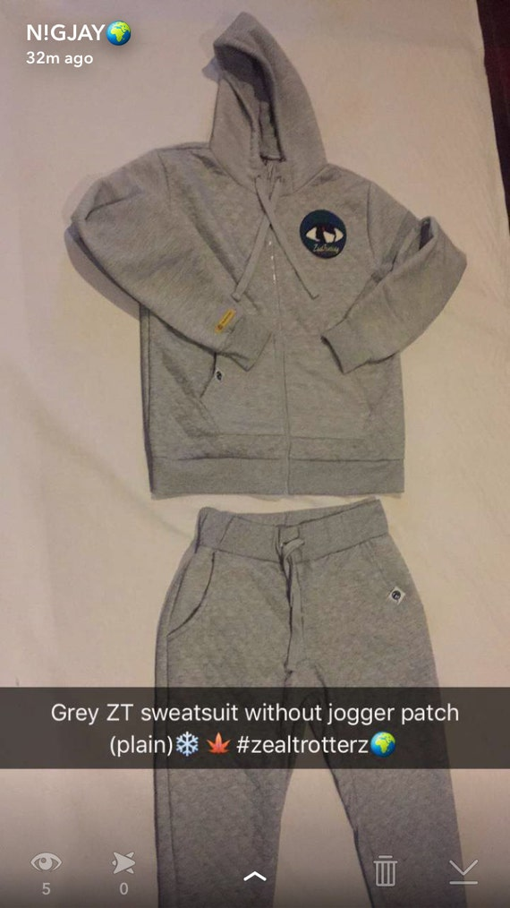 Thrive Timeless ZT Grey Tracksuits