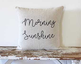 Morning Sunshine (Pillow Cover Only)