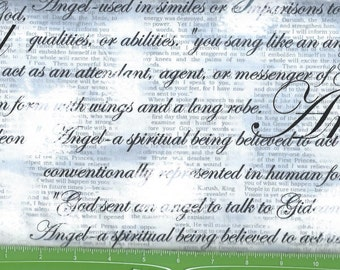 Heaven Sent,Awesome gray/white angel words,Kansas Studio