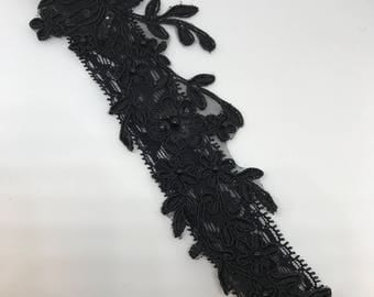 Garter, Wedding Garter, Black garter, Black wedding garter, Lace garter