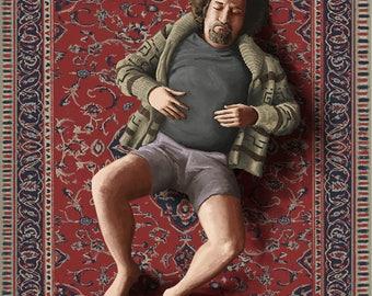"The Big Lebowski Artwork - ""The Dude"""