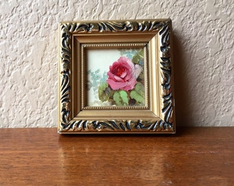 Small Framed Tile Painting