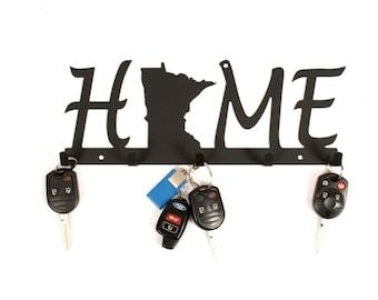 Minnesota Gift Idea / Minnesota Key Holder / Minnesota Decor / MN Decor / Minnesota Sign / MN Home Sign / Wholesale