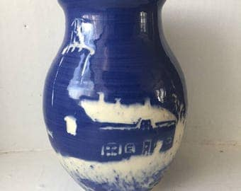 Chatham Lighthouse Vase