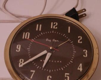 ALARM CLOCK Westclox Big Ben electric Alarm Clock