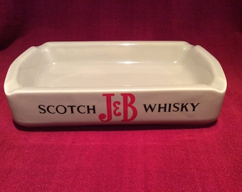 J&B Scotch Whisky Wade PDM Porcelain Ashtray