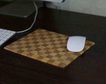 Ash Wood Mousepad