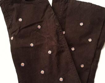 SALE Vintage 70s courduroy pants