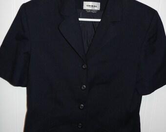 Jacket Navy short sleeve (Tribal Sportswear)