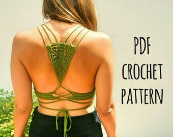 Earth Top Crochet Pattern