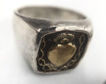 Amit saluja heart ring
