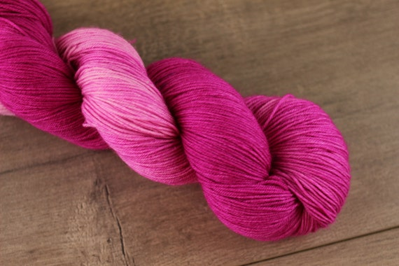 The girl who only wore pink hand dyed tonal