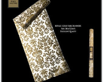 Table Runner Gold Royale