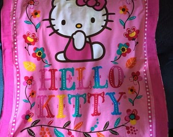 Hello Kitty  baby/toddler  quilt/blanket