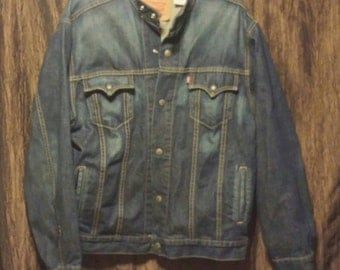 Vintage Men's Levi Strauss Easy Rider Denim Jacket, size large, free shipping