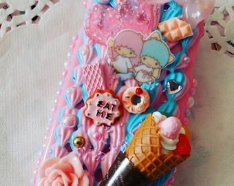 Kawaii Decoden Iphone 6 Case Sweets Angels