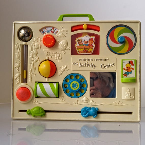 Vintage Fisher Price Activity Center Original 134 Vintage