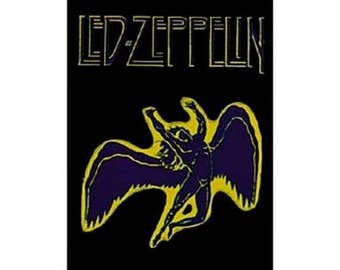 LED ZEPPELIN 'Swan Song' textile poster flag.  Officially licensed.