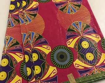 African print fabric by the Yard/African Clothing/ Dutch fabric