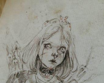Rat Princess - 4x6 print