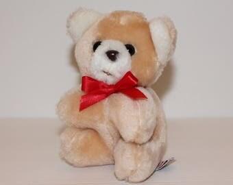 Vintage Mary Meyer Teddy Bear Plush, Mini Stuffed Animal Bear