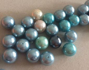 Lotto outlet 24 12 mm pearls waxed