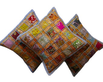 Stunning Handmade cushions. Made from Up-cycled fabric. Perfect christmas gifts.