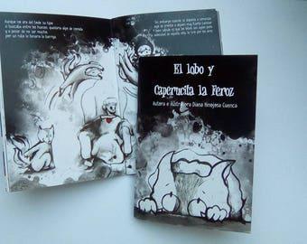 """Book """"El Lobo y Caperucita la Feroz"""""""