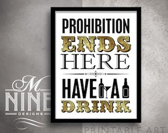 Prohibition | Etsy